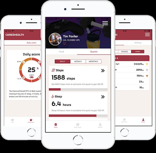 Gamer Health App
