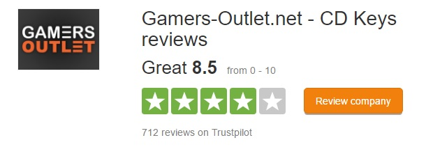 Gamers-Outlet.net trustpilot
