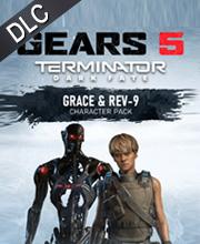 Gears 5 Terminator Dark Fate Pack Grace and Rev-9
