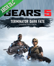Gears 5 Terminator Dark Fate Pack Sarah Connor and T-800