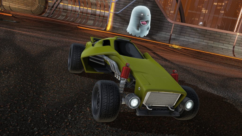 Rocket League ghost-topper