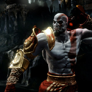 God of War 3 Remastered PS4 Fight