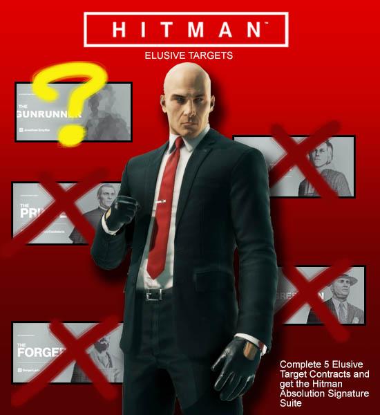 Hitman Elusive Target List