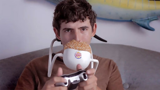 Hands Free Whopper