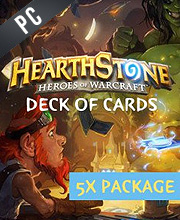 Hearthstone Heroes of Warcraft 5 x Deck of Cards