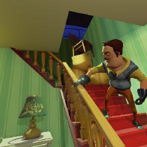 Suspenseful horror gameplay