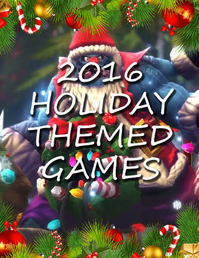 Christmas Themed Video Games For The Year 2016!