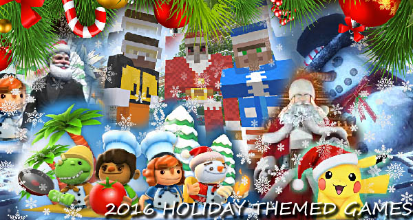 2016 Christmas Themed Video Games