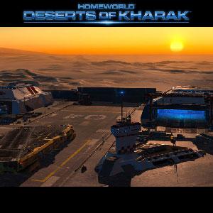 Dying desert planet of Kharak