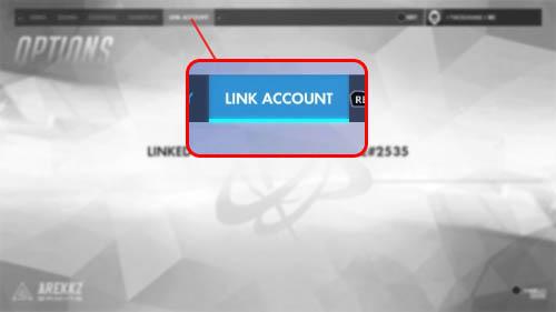 Overwatch Link Account