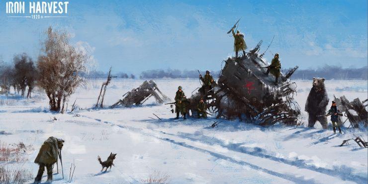 Iron Harvest Rusviet Union