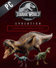 Jurassic World Evolution Carnivore Dinosaur Pack