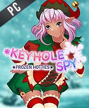 Keyhole Spy Frozen Hotties