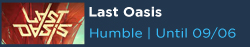 Last Oasis Free with Humble Choice