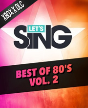 Let's Sing 2020 Best of 80's Vol. 2 Song Pack