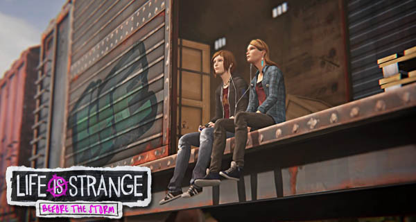 Life is Strange Before the Storm Launch Trailer Cover