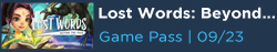 Lost Words: Beyond the Page Free with Game pass