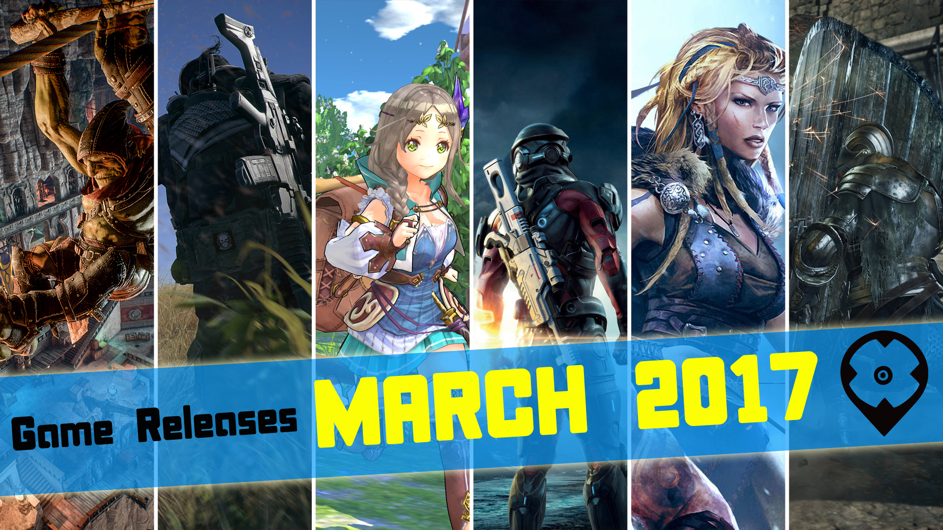 March 2017 Game Releases