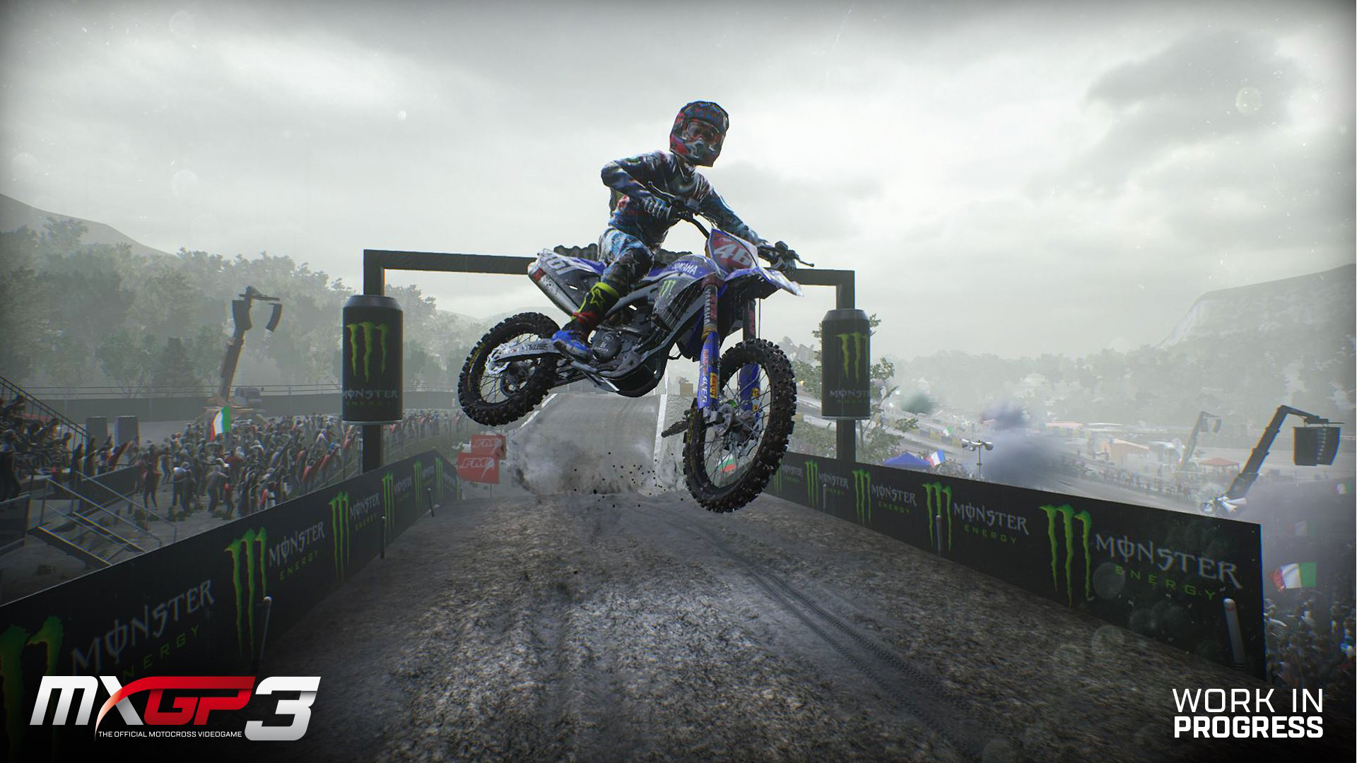 MXGP 3 Gameplay Cover