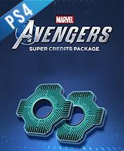 Marvels Avengers Super Credits Pack