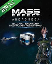 Mass Effect Andromeda Salarian Infiltrator MP Pack
