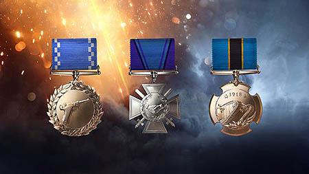 Battlefield 1 medal-system