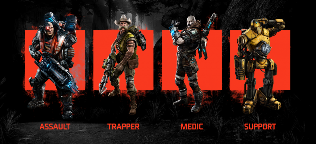 Meet the Hunters – Evolve   Turtle Rock Studios   2K