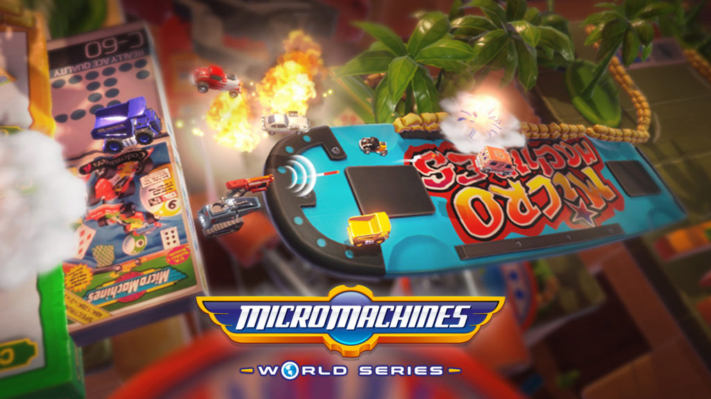 Micro Machines World Series Gameplay Trailer Cover