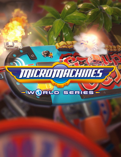 Micro Machines World Series Gameplay Video Brings the Thrill of the Race!