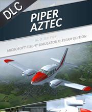 Microsoft Flight Simulator X Piper Aztec