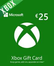 Microsoft Gift Card 25 Euro Xbox Live