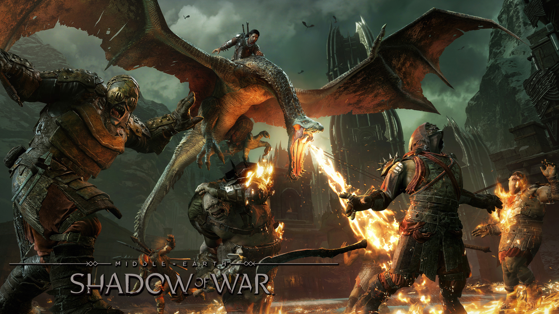 Middle Earth Shadow of War Gameplay Cover