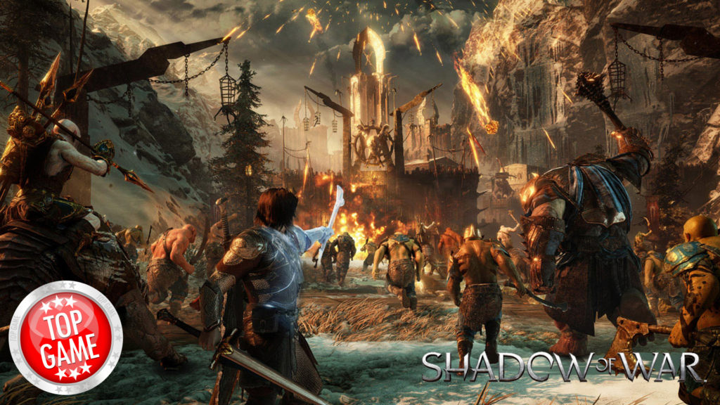 Middle Earth Shadow of War Release Date Cover