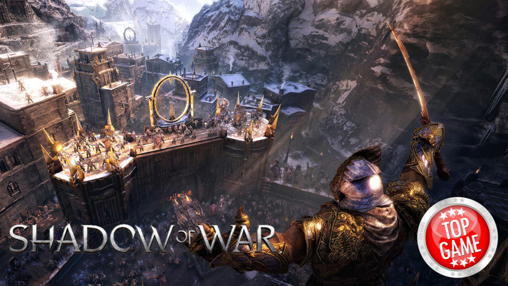 Middle Earth Shadow of War Trailer Cover