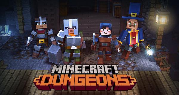 MInecraft Dungeons World Map