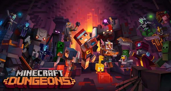 Minecraft Dungeons Launch