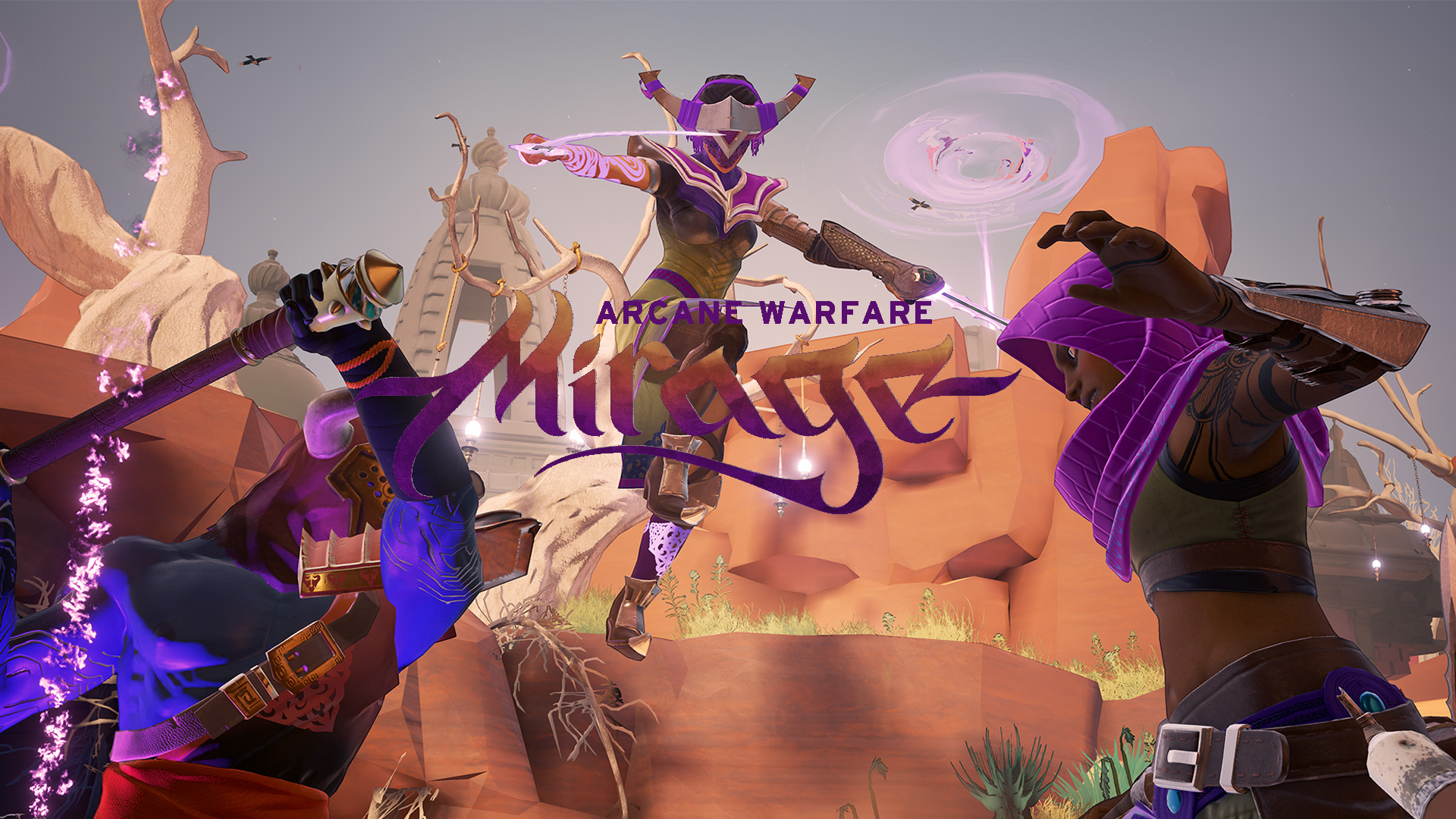 Mirage Arcane Warfare Release Cover