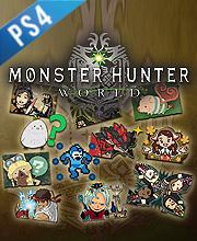 Monster Hunter World Complete Sticker Pack