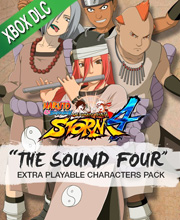 NARUTO SHIPPUDEN Ultimate Ninja STORM 4 The Sound Four Extra Playable Characters Pack