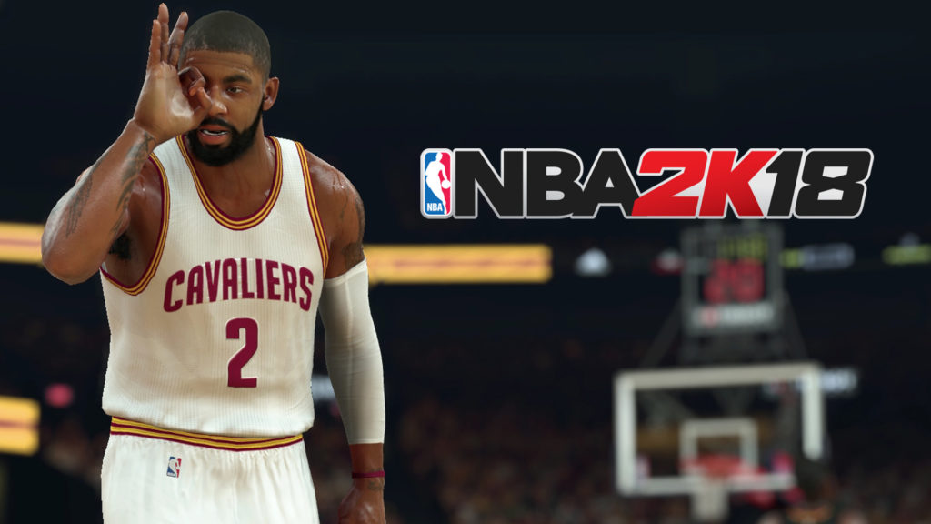 18e3a45d2a42 NBA 2K18 Cover Star Kyrie Irving Gets Traded to the Celtics