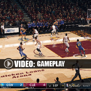 NBA Live 18 PS4 Gameplay Video