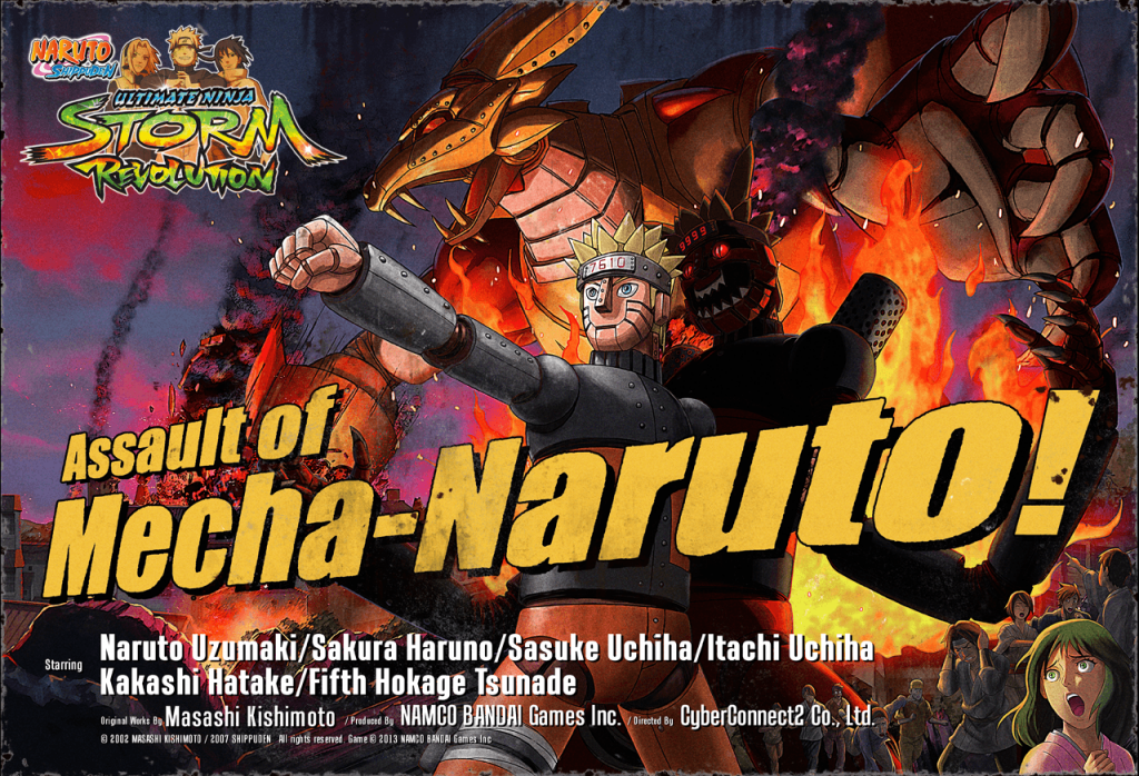 Naruto Shippuden Ultimate Ninja Storm Revolution Assault of Mecha Naruto