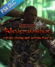 Neverwinter Heirloom Weapon Pack