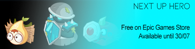 Next Up Hero free on Epic Games