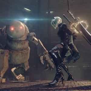 Nier Automata Combat