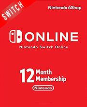 Nintendo Switch Online 12 Months