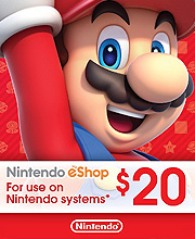 Nintendo eShop Card 20 Dollar