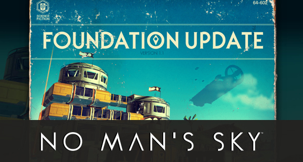 No Man's Sky Update 1.1 Cover