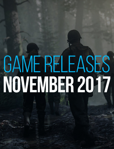 November 2017 Game Releases