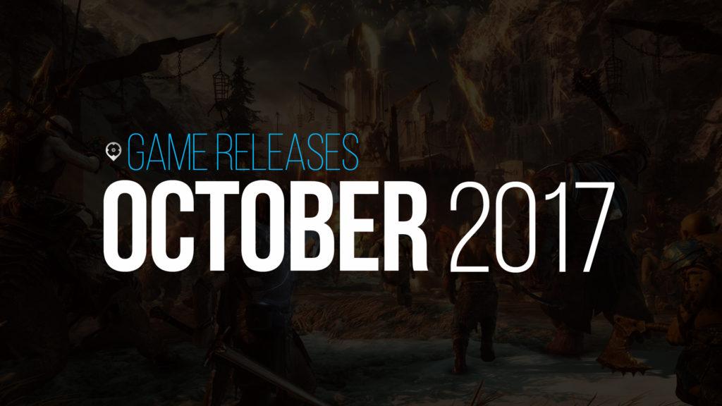 October 2017 Games